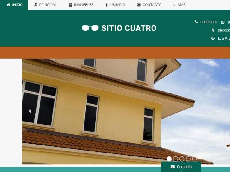 DEMO 4 . Sitio web inmobiliario