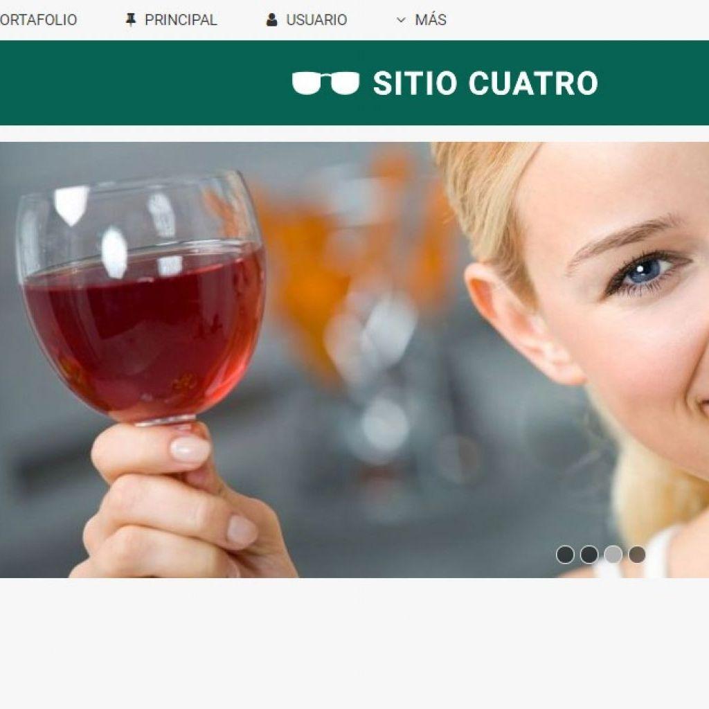 Diseño web restaurante demo 4.