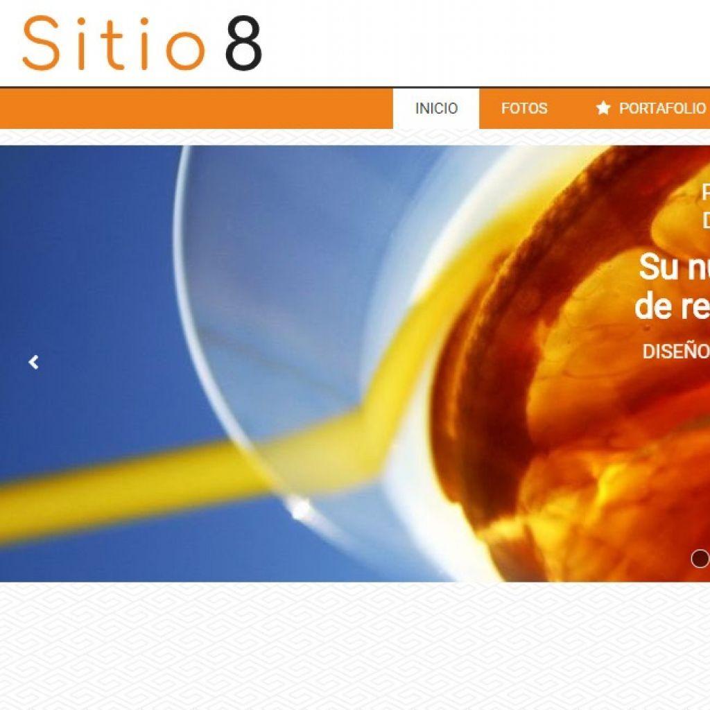 Ejemplo diseño web restaurante 8